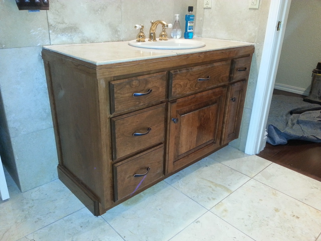 old bathroom cabinets